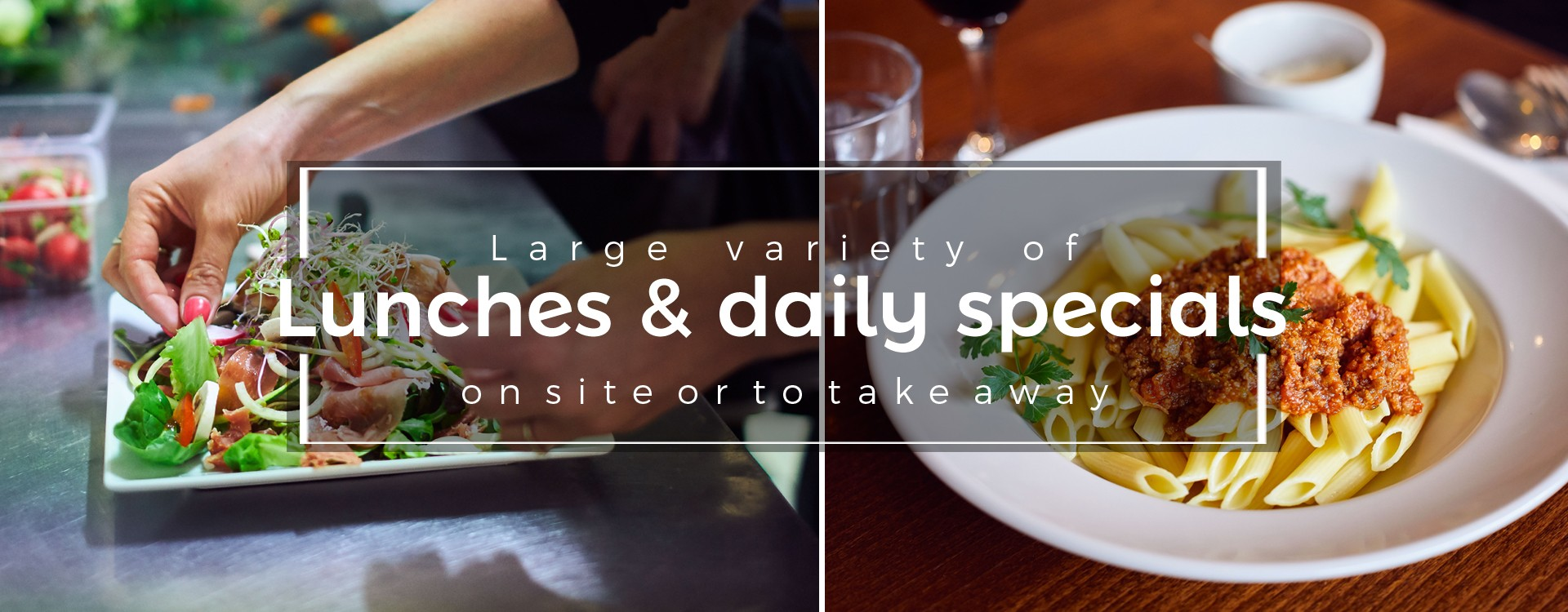 Lunches and daily specials at la place du Chatelain in Brussels